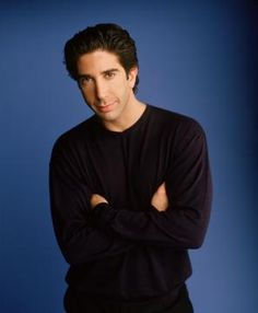 he's smart and hilarious!! david schwimmer on friends