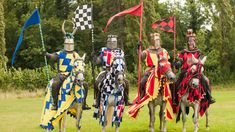 Hever Castle's popular summer jousting events return as the Knights of Royal England battle it out in the annual Jousting Tournament.