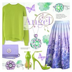 """""""Summer Angel ~ Totwoo Contest"""" by alexandrazeres ❤ liked on Polyvore featuring Chicwish, Michael Antonio, Metrocity, totwoo, totwooglobal and smarttech"""