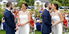 outdoor wedding ceremony in Cork
