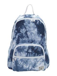 The Beach Backpack by Roxy - Beach Backpack, Backpack Bags, Fashion Backpack, Denim Backpack, Cute Backpacks, School Backpacks, Roxy Surf, Cute Bags, School Bags