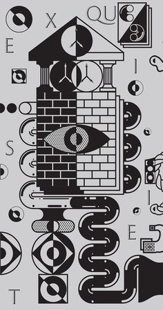 Exquisite Corpse Exhibition by PABLO ABAD, via Behance