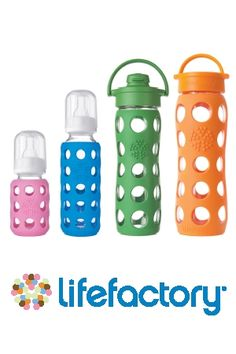 Give Glass – Lifefactory Glass Bottles.