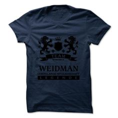 WEIDMAN - TEAM WEIDMAN LIFE TIME MEMBER LEGEND - #gift for women #shower gift. SAVE => https://www.sunfrog.com/Valentines/WEIDMAN--TEAM-WEIDMAN-LIFE-TIME-MEMBER-LEGEND.html?68278
