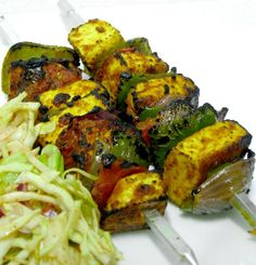 Paneer tikka...I would eat it every day if I could!