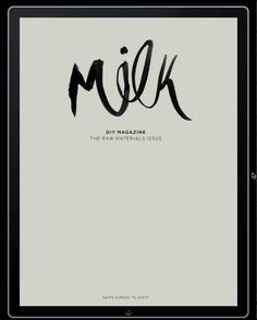 MILK, by Natasha Mead, Wellington, New Zealand by Mag+. DIY fashion mag.
