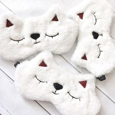 Cat Lover Gifts, Cat Gifts, Cat Lovers, Cute Sleep Mask, Crochet Wallet, Sleepover Games, Unicorn Crafts, Delicate Wash, Sewing For Kids