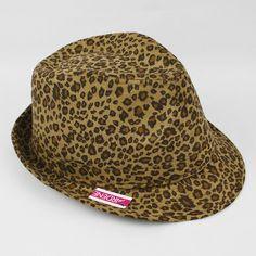 print fedora hat