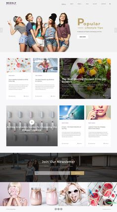 More than website templates available! Choose your theme and build a professional looking site today! Magazine Examples, Web Magazine, Fashion Blog Names, Photography Website Templates, Web Design Examples, Joomla Themes, Online Fashion Magazines, Joomla Templates, Blog Topics