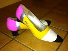 Second Grade Silliness: pencil shoes. Bet the students loved these!