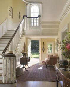 #perfection Entradas Luminosas Hacen Más Cálido El Hogar · Country House  InteriorCountry ...