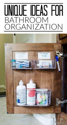 ? 7+ Under Sink Storage Organize the Space Under Sink [Smart Ways] | Organization | Pinterest | Bathroom sink storage Sinks and Storage & ? 7+ Under Sink Storage: Organize the Space Under Sink [Smart Ways ...