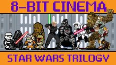 The Original Star Wars Trilogy Retold as an Old-School 8-Bit Animated Video Game