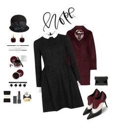 """""""Sunday Best Dressed: Hope"""" by kjlnelson ❤ liked on Polyvore featuring Pomellato, Alexander Wang, Jill by Jill Stuart, Alexander McQueen, Eric Javits, Falke, Burberry and Givenchy"""