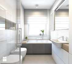 Flat No. 3 on Behance Interior Architecture, Interior Design, Malaga, Bathroom Inspiration, Bathtub, Flats, Behance, Home Decor, Toilets