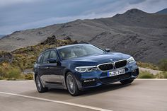 2017 BMW 5-Series Touring Gets Revealed Before The Geneva Debut The second version of the executive BMW model – the 2017 BMW 5-Series Touring – got revealed right before its official debut at the Geneva Auto Show. The Touring version enjoys the same lightweight chassis technology that has been seen on the Sedan version. It also features a standard rear air su...
