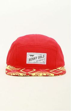 Navajo 5 Panel Hat by Benny Gold at MOOSE Limited