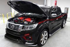 Nissan Navara с мотором 800 л.с