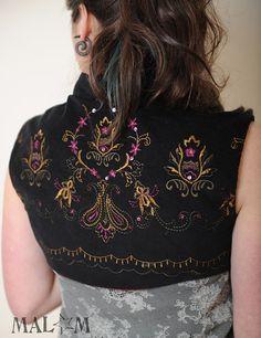 Black embroidered Bolero  Black Milleraies velvet  Your by Malam, €129.00