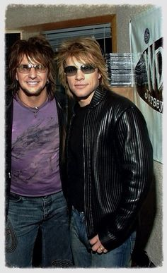 Richie and Jon. Ah, the good ol days. I fear it will never be the same again. Money will destroy ya.