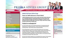 WOKKE Vormgeving & Communicatie | Prisma Advies Groep #website#webdesign #design #branding