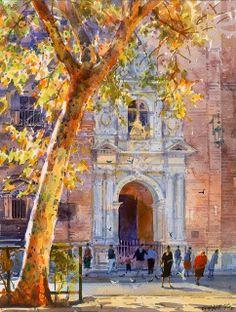Geoffrey Wynne   Watercolor