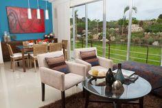 Departamento muestra. Outdoor Furniture Sets, Outdoor Decor, Showroom, Patio, Home Decor, Terrace, Interior Design, Home Interior Design, Fashion Showroom