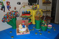 #Super Mario Brothers #birthday Party