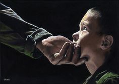 One day you'll Understand....Richard Blunt... oil on canvas ~ This painting touched my heart!