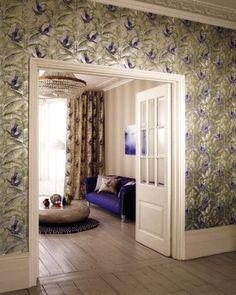 Matthew Williamson Sunbird (W6543-06). Roomset shown in same or different colourway.