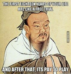 Free trial --> Pay to play - 9GAG