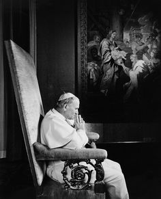 Pope John Paul II 1979 An open minded heart and the will to compromise.