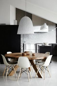 Modern dining table kitchen industrial