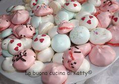 La buona cucina di Katty: Meringhe colorate