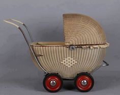 Retro 2, Retro Toys, Vintage Toys, Crib Toys, Baby Toys, Pram Stroller, Baby Strollers, Old Fashioned Toys, Old Baskets