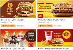 Promoções McDonalds de Março