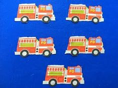 5 Little Fire Trucks #storytime #flannelboards #flannelfriday #feltboards