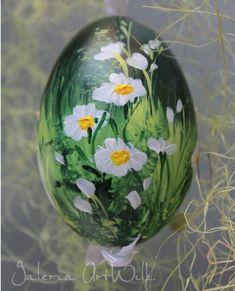 Pisanka kacza kacza polne kwiaty 36/300 - Artwilk