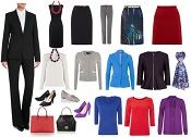 For stylish lawyers and other professional women in conservative industries, what would an ideal capsule wardrobe for work look like?