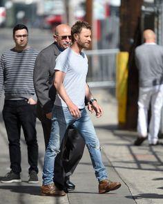 Dierks Bentley Photos - Gwen Stefani is seen in Los Angeles, California on April - Celebs Appear On 'Kimmel'