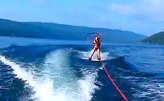 Hula Hoop Waterskiing with Jackie Nixon | hooping.org
