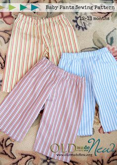 Happy Tuesday! Up for a project? Judah needed some new pants so I whipped up a few pairs and, in case you know a little one-year-old who needs new pants too, I created a free baby pants pattern pdf forREAD MORE