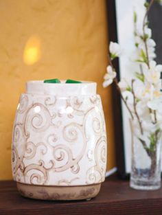 Beautiful Scentsy Barista Warmer!!!