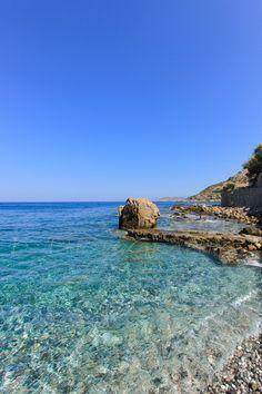 Linthi beach, Chios, Greece