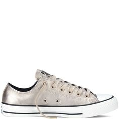 Chuck Taylor All Star Metallic - portrait grey.  Want.