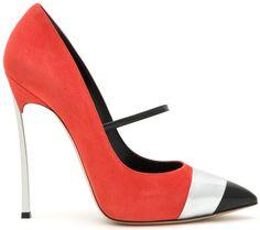 Женские туфли, высокий тонкий каблук Casadei — 4shopping v3.0