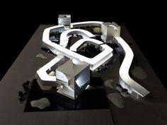 steven holl chosen for culture and art center of qingdao city - designboom | architecture