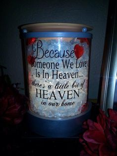 """Here's a way to customize your Charmer Warmer!!! *** This has vinyl lettering attached to the glass  SHOP ONLINE ~ SHIPS DIRECT https://spollreisz.scentsy.us *** Some types of customizations """"may"""" void the warranty"""