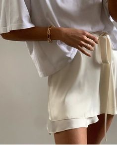 how to style silk skirts
