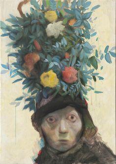 "Saatchi Online Artist Jun Ho Cho; Painting, ""something not to eat"" #art"